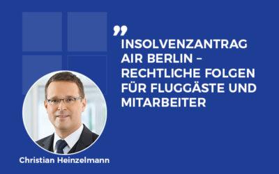 Was passiert nach dem Insolvenzantrag mit Air Berlin?
