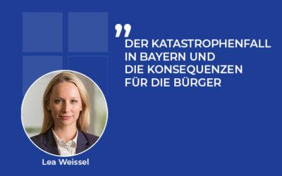 Der Corona-Katastrophenfall in Bayern und die Konsequenzen für die Bürger