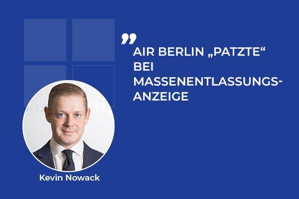 "Air Berlin ""patzte"" bei Massenentlassungsanzeige"